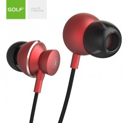 GOLF Wired earphones 3.5mm...
