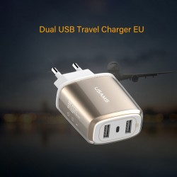 USAMS US-CC004 U2 Dual USB...